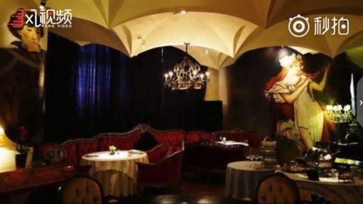 西郊5號餐廳外觀及內部。(圖/翻攝鳳視頻) ID-1551678
