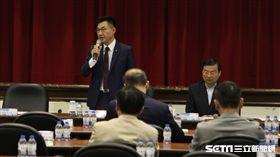 國民黨也在下午舉行立法實務研討會,拋出22個優先法案,(圖/記者李英婷攝)
