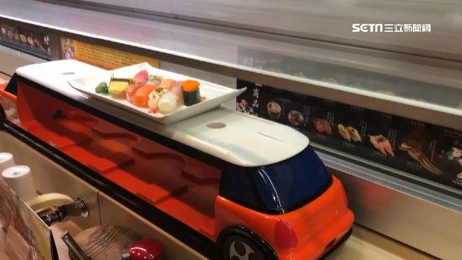 迴轉壽司再進化!跑車送餐業績增5%