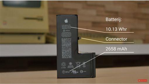 iPhone XS,電池容量,蘋果,愛瘋,iPhone 圖/翻攝影片