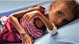 葉門內戰,飢餓,飢荒(圖/翻攝自Save the Children)