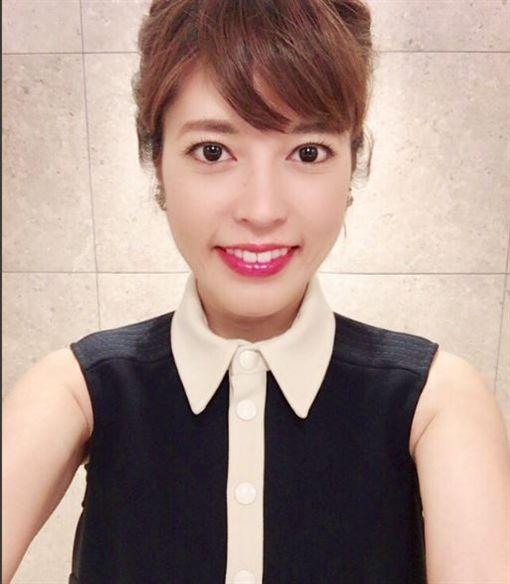 NHK美女主播神田愛花(圖/翻攝自神田愛花推特)