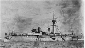 甲午戰爭沉艦找到了!經遠艦大連現蹤 甲午戰爭,經遠艦,大連 翻攝自推特