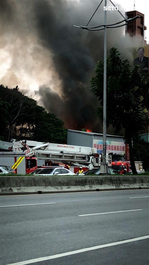 台北市,士林,火警,鐵皮屋
