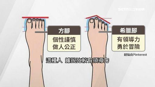 腳趾露個性! 「方腳」公正、「希臘腳」有領導力