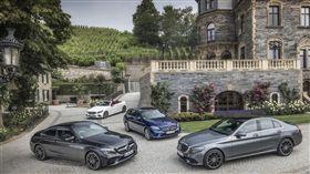 The new C-Class。(圖/Mercedes-Benz提供)