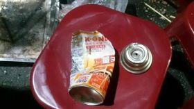 台南,烤肉,卡式瓦斯罐,爆炸(圖/翻攝畫面)