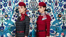 土耳其,土耳其航空,新制服 圖/翻攝自土耳其航空臉書