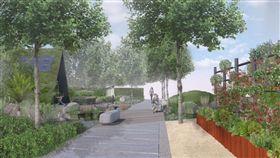 花博后里園區吸引30國園藝好手 展庭園及室內花卉之美/中市府提供