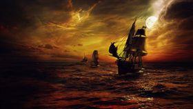 海盜船。(圖/翻攝自PIXABAY)