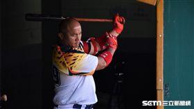 台壽保成棒隊出戰海峽盃,「森林王子」張泰山引退賽。(圖/記者王怡翔攝影)
