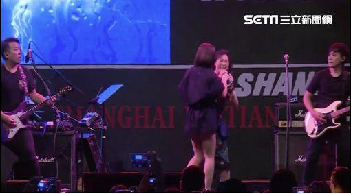 丁噹上海參加世界音樂節 圖/相信音樂提供