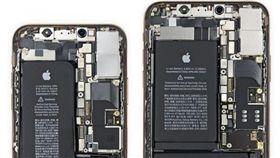 蘋果,iPhone,愛瘋,iPhone XS,iPhone XS MAX 圖/翻攝自iFixit影片