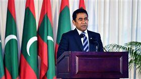馬爾地夫總統雅門(Abdulla Yameen) 圖翻攝自President Abdulla Yameen