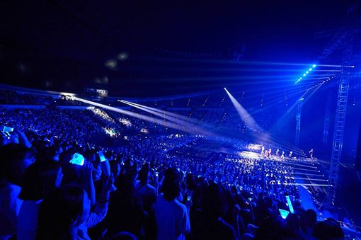 WINNER出道四年,首次來台開單獨演唱會。(圖/Live Nation理想國提供)