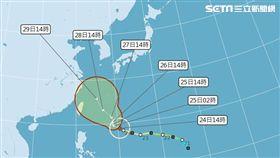 颱風,潭美,潭美颱風,氣象局,天氣風險