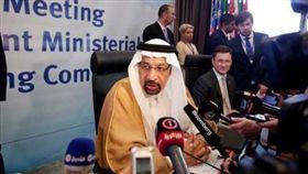 沙烏地能源部長法利赫(Khalid al-Falih)。(圖/翻攝自@US_EnergyNow推特)