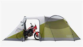 Vuz Moto機車帳篷。(圖/翻攝Vuz網站)