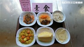 花蓮王入監編號2605 坐牢第一餐菜色曝光!(圖/翻攝畫面)