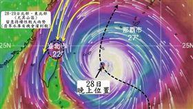 颱風,潭美颱風,氣象局,觀氣象看天氣