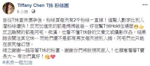 Tiffany Chen T妹 粉絲團臉書