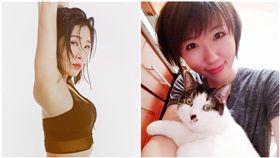 KIMIKO,肌肉量,瘦身,廣告小妹(圖/翻攝自臉書)