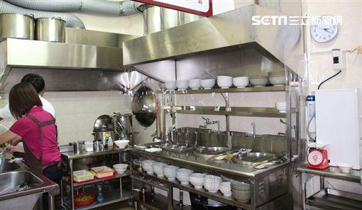 開放式的廚房衛生看得見