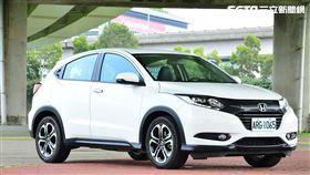 Honda HR-V。(圖/鍾釗榛攝影)