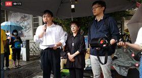 「以核養綠」公投領銜人黃士修26日召開記者會宣布結束絕食抗議。(圖/翻攝臉書)