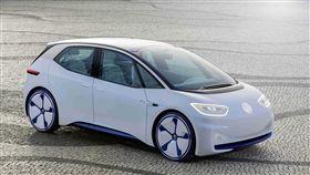 Volkswagen ID.電動概念車。(圖/Volkswagen提供)