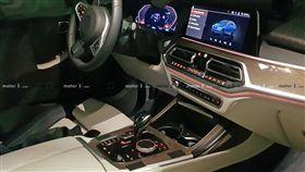 BMW X7內裝(圖/翻攝Motor 1)