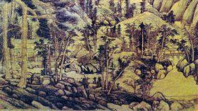 元代畫家黃公望作品《天池石壁圖》軸絹本(翻攝維基百科)