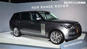 2019年式Range Rover。(圖/鍾釗榛攝影)