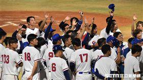 亞運中華棒球隊。(資料照/記者王怡翔攝影)