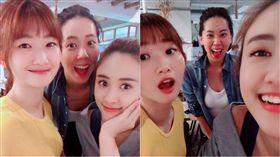吳姍儒Sandy,Vivian,Olivia/翻攝自臉書