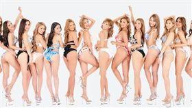 「CYBERJAPAN DANCERS」團員們擁有窈窕曲線與修長圓潤美腿。(圖/翻攝自CYBERJAPAN粉絲團)