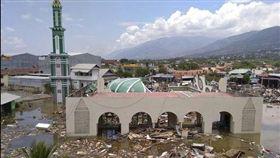印尼,巴路市,地震,海嘯,屍體(圖/美聯社/達志影像)