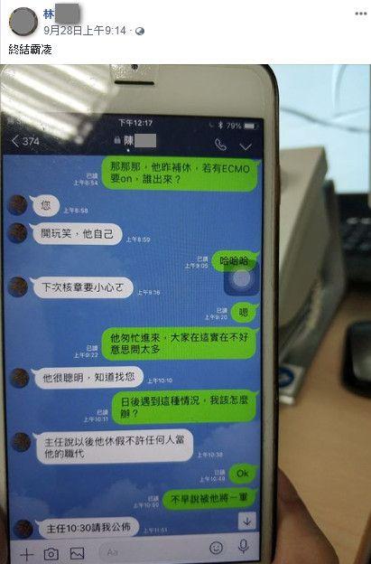 台南,成大醫院,殺人,體循師,人緣差(圖/翻攝自林光宇臉書)