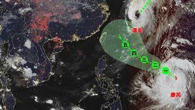 氣象局,康芮,颱風,康芮颱風,台灣颱風論壇|天氣特急