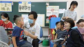幼兒流感疫苗施打率偏低 苗縣府籲接種流感疫苗10月起開打,不過截至目前,苗栗縣內學齡前幼兒施打率僅6%,縣府13日呼籲家長盡早帶小孩接種疫苗,預防流感疫病威脅。(苗栗縣政府提供)中央社記者管瑞平傳真 106年10月13日