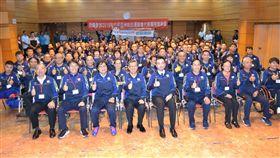亞帕運代表團將於10月1日啟程前往印尼。(圖/體育署提供)