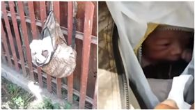 菲律賓,拉普拉普,棄嬰,垃圾車,校服(圖/翻攝自YouTube)