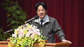 行政院長賴清德30日上午出席台灣農業產學聯盟2018年年會和政策研討會。(圖/行政院提供)