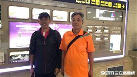 陸2男稱遭迫害持「難民證」 過境台灣尋政治庇護 圖翻攝畫面