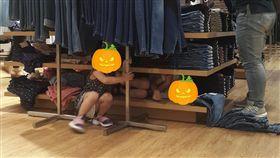 小孩,服飾店,家長,家教,倒楣,店員,/翻攝自爆怨公社