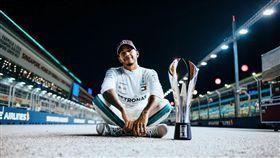 賓士F1車手Lewis Hamilton(圖/車訊網)