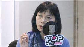 促轉會委員兼發言人楊翠1日接受廣播節目《POP搶先爆》專訪。(圖/《POP搶先爆》製作單位提供)