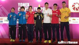 台北羽球公開賽,中華派出史上最強陣容。(圖/記者劉忠杰攝影)