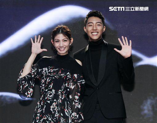 李千娜、蔡凡熙公佈第55屆金馬獎入圍名單。(記者邱榮吉/攝影)