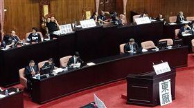立法院2日開會,國民黨再度杯葛(圖/記者李英婷攝)